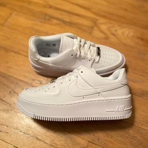 New Nike Air Force 1 Sage Low Women White